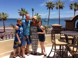Ryan, Scott, Bre, Kiley in Loreto, BCS