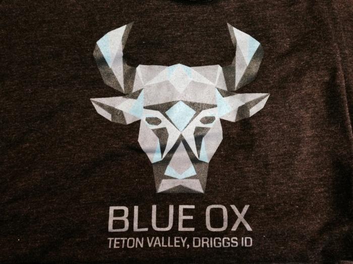 Blue Ox Tshirt Logo